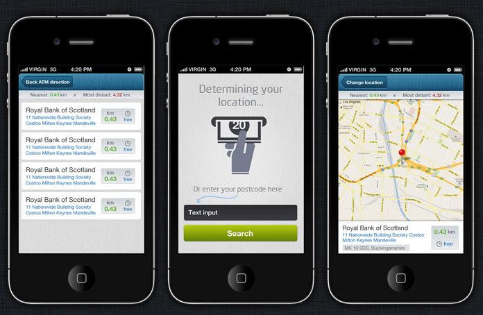 Mapper Iphone And Ios App Ui Design Templates