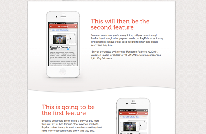 Wordpress iphone app theme