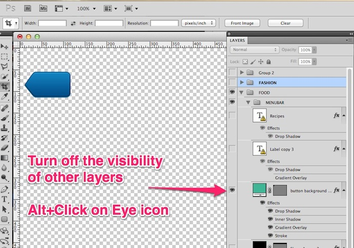 photoshop how to make 2 layers into 1