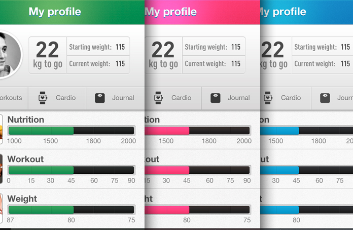 app designs templates
