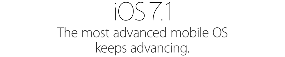 5 Changes in iOS 7.1 You Will Learn to Love