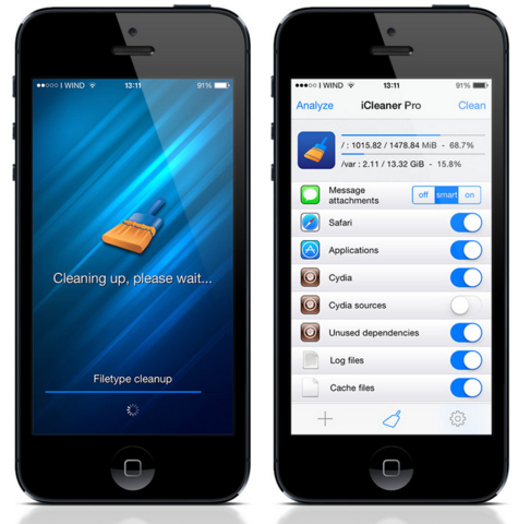 iCleaner Pro: Clean Up Your Device
