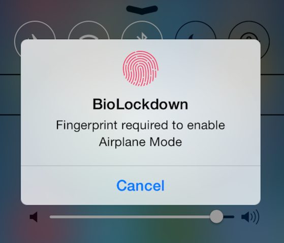BioLockdown: Secure Apps With TouchID