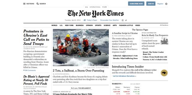The New York Times   Breaking News  World News   Multimedia