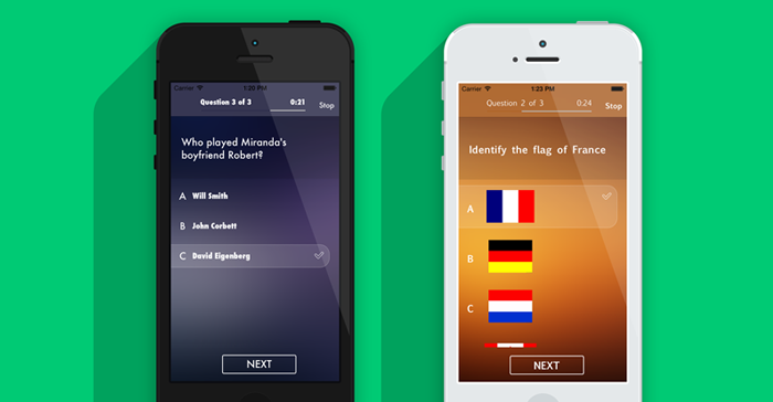 Quiz Maker - iOS Quiz Game App Source Code  Fully Functional