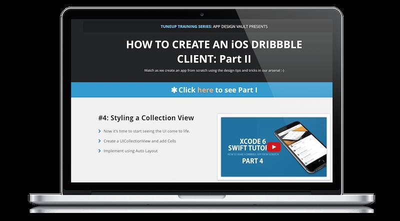 Mega - iOS App Design Kit | iPhone and iOS App UI Design Templates